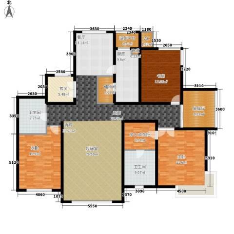融创奥城领峰3室0厅2卫1厨213.00㎡户型图