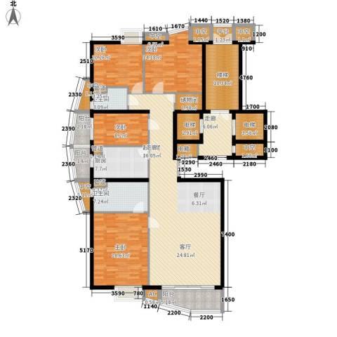富卓花园4室0厅2卫1厨187.27㎡户型图