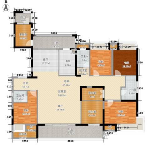 融科东南海二期4室0厅3卫1厨229.00㎡户型图