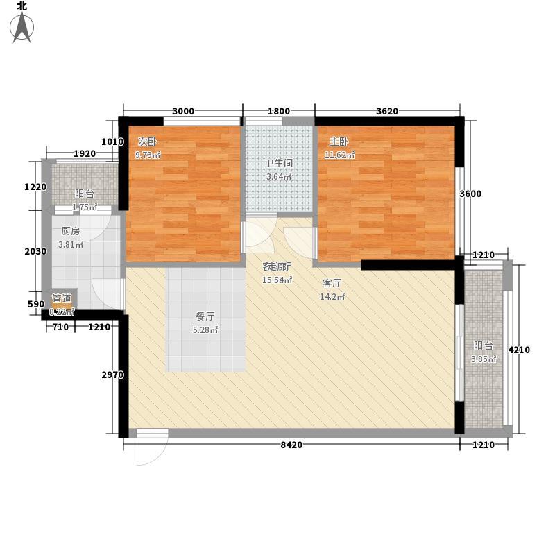 金色港湾五期98.41㎡金色港湾五期户型图2单元5号房2室2厅1卫1厨户型2室2厅1卫1厨