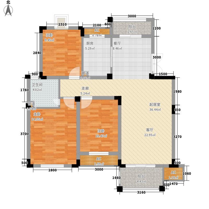 琥珀山庄184.00㎡琥珀山庄5室户型5室