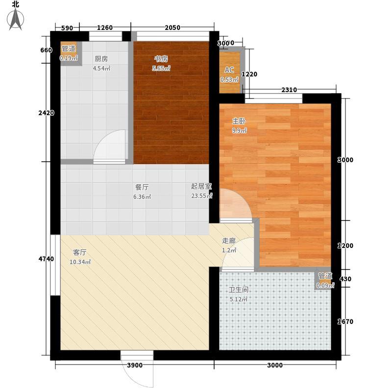 武铁佳苑1室户型1室1厅