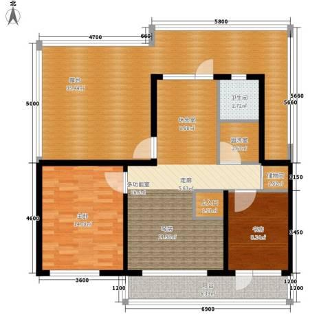 筑石居易2室0厅1卫0厨141.00㎡户型图
