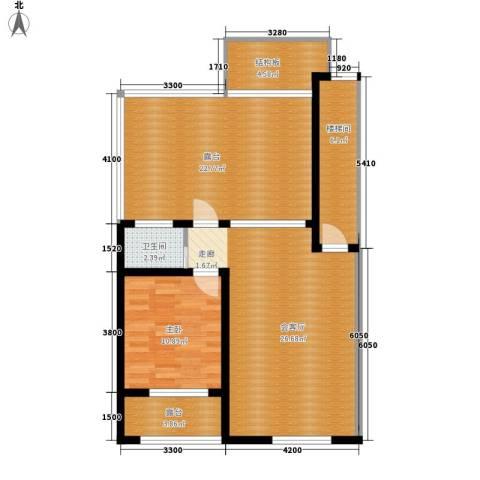 筑石居易1室0厅1卫0厨110.00㎡户型图