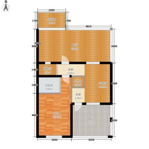 筑石居易1室0厅1卫0厨118.00㎡户型图