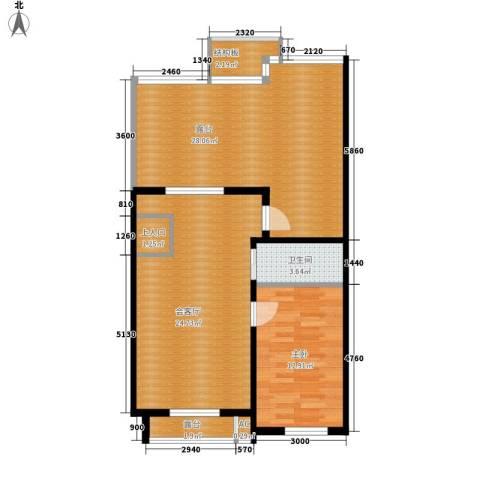 筑石居易1室0厅1卫0厨105.00㎡户型图