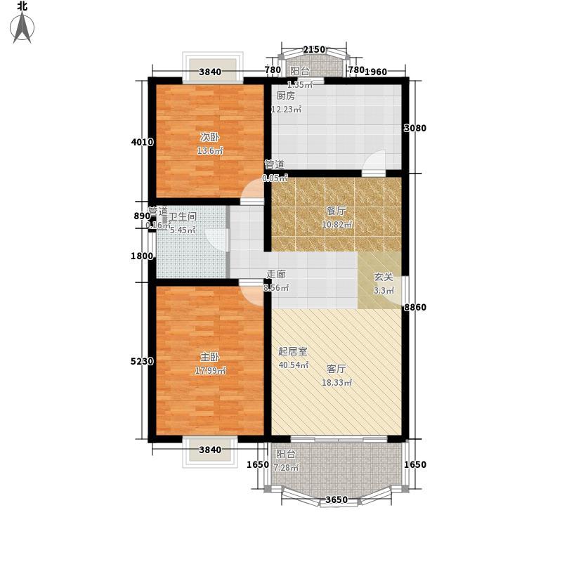 世纪花苑111.47㎡上海世纪花苑户型10室