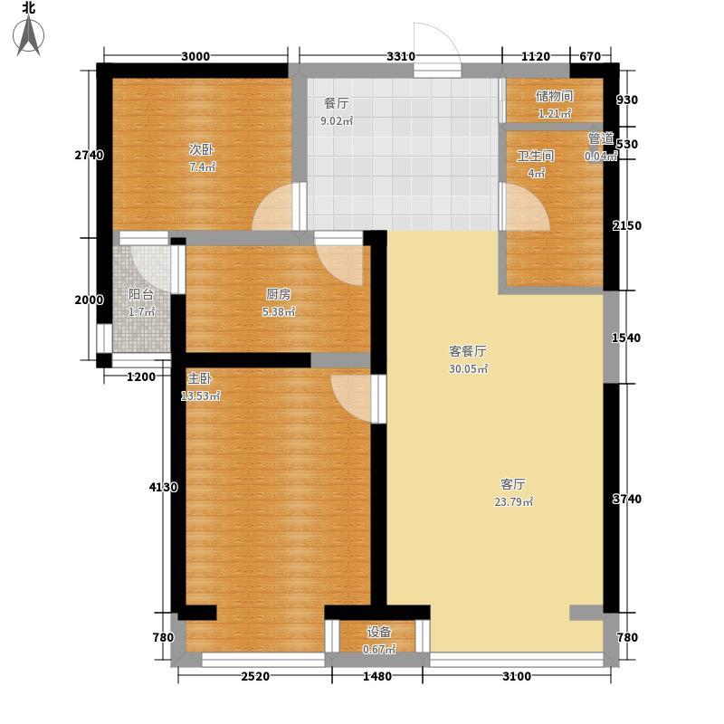 铜陵新村50.00㎡铜陵新村2室户型2室