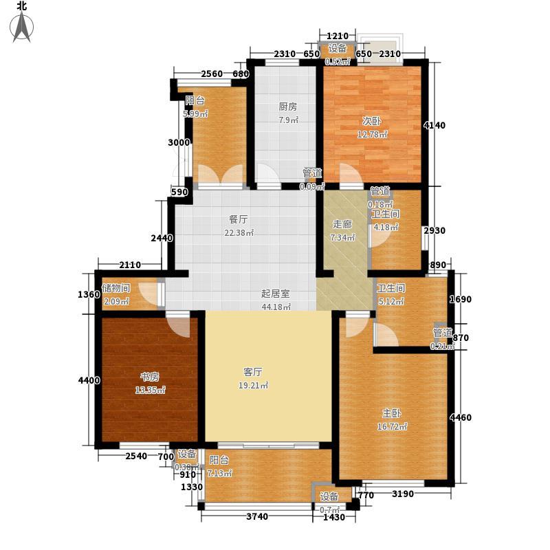 涵碧景苑涵碧景苑户型图B户型3室2厅2卫1厨户型3室2厅2卫1厨