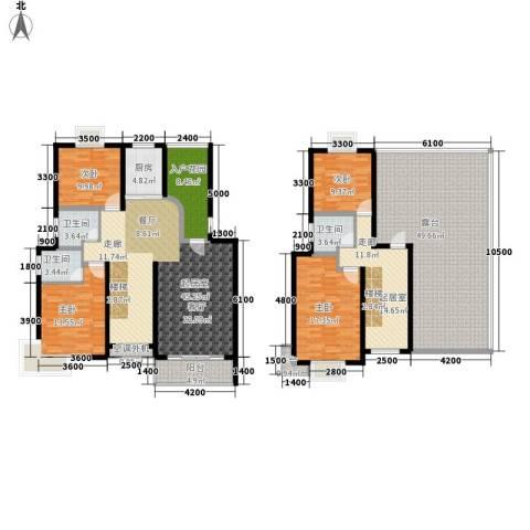 金桥慧景4室0厅3卫1厨190.59㎡户型图