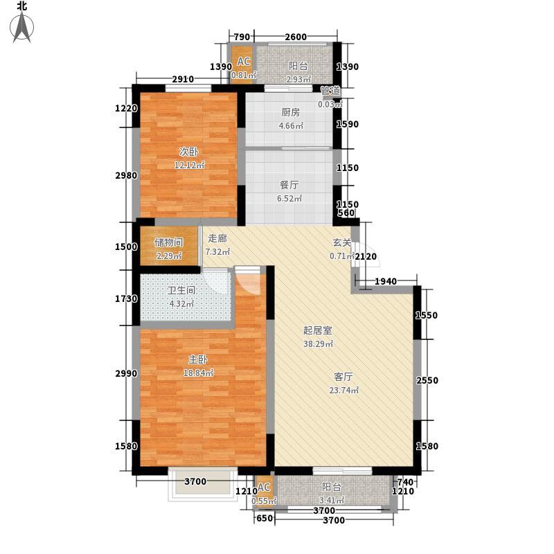 天赐园(和平区)120.32㎡天赐园4#2、3面积12032m户型
