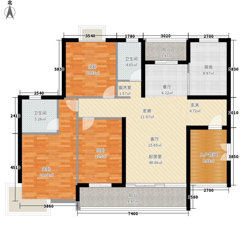 天之城155.00㎡天之城户型图C户型3室2厅1卫1厨户型3室2厅1卫1厨