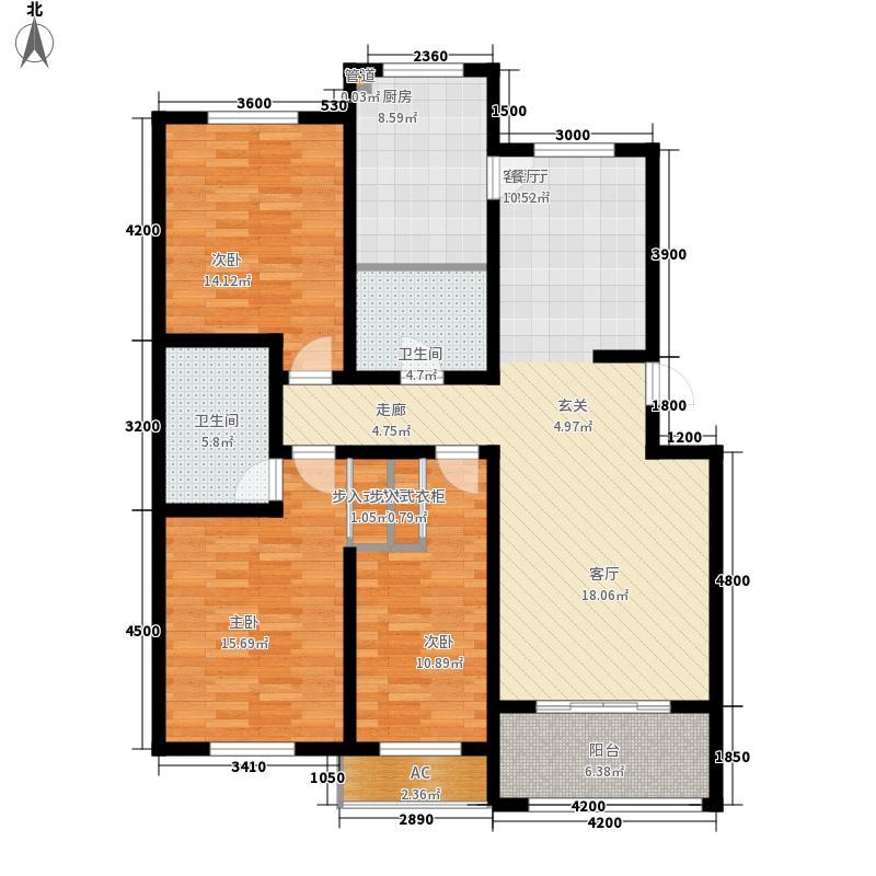 兴龙生态谷137.72㎡6+1多层G2反户型3室2厅