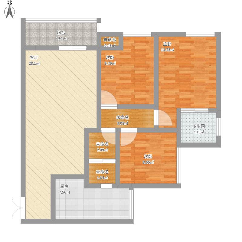 3室2厅99平方