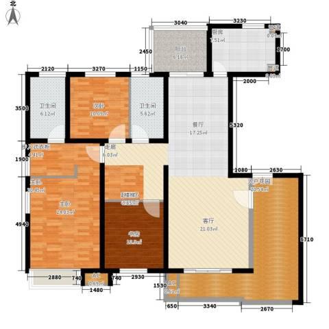 万源城乐斯生活会馆3室0厅2卫1厨317.00㎡户型图