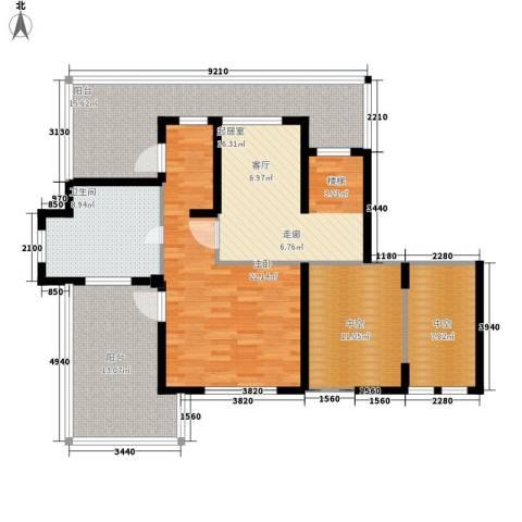 万源城乐斯生活会馆1室0厅1卫0厨218.00㎡户型图