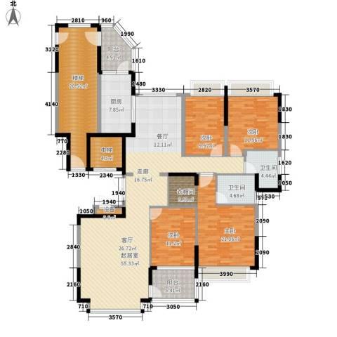 恒大・名都4室0厅2卫1厨175.00㎡户型图
