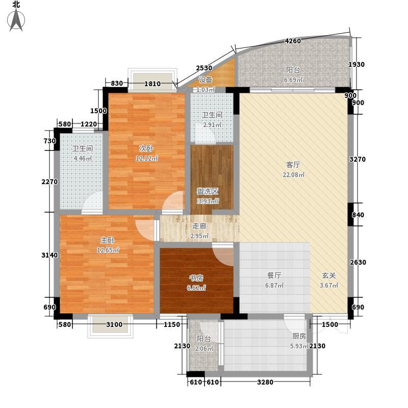 经典时代花园广场143.00㎡经典时代花园广场户型图18号楼平层3室2厅2卫1厨户型3室2厅2卫1厨