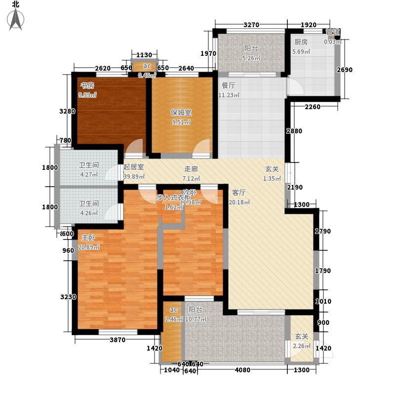 安粮城市广场165.00㎡安粮城市广场户型图7、8#楼I户型4室2厅2卫1厨户型4室2厅2卫1厨