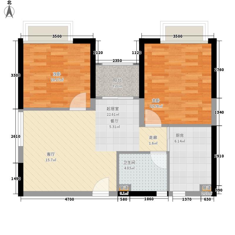 宝城花园360.00㎡宝城花园4室户型4室