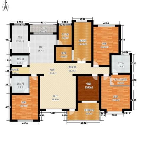 东湖印象4室0厅3卫1厨304.00㎡户型图