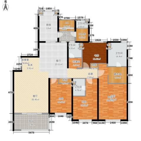 南通运杰龙馨园3室0厅4卫1厨244.00㎡户型图