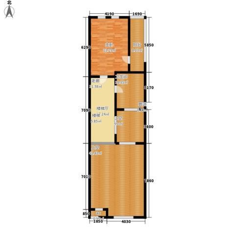 绿地公园壹品1室0厅1卫0厨125.00㎡户型图