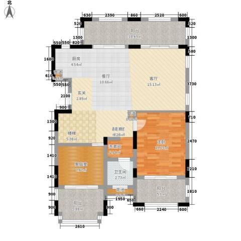 金泰・南燕湾1室0厅1卫0厨131.00㎡户型图