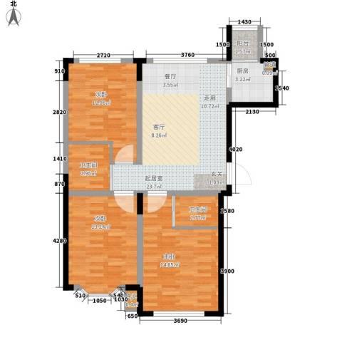 彩虹风景3室0厅2卫1厨107.00㎡户型图