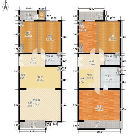 耕天下4室0厅3卫1厨238.00㎡户型图
