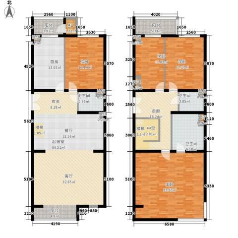 耕天下4室0厅3卫1厨236.00㎡户型图