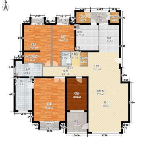 耕天下4室0厅3卫1厨201.72㎡户型图