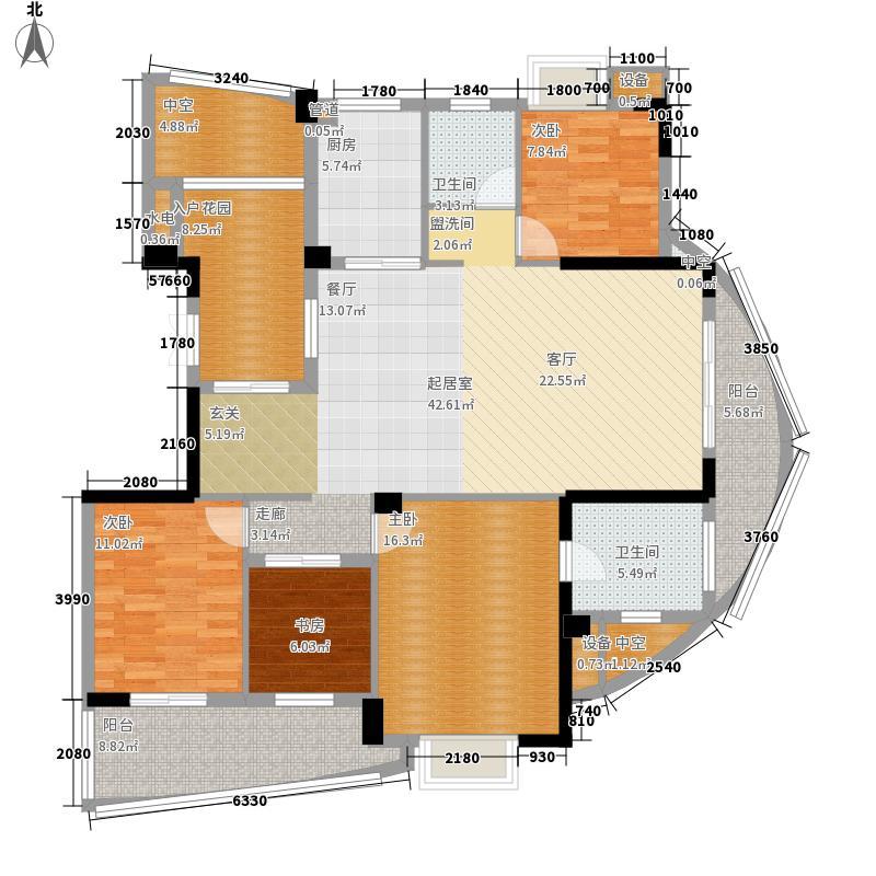 世欧彼岸城世欧彼岸城户型图K1户型4室2厅2卫1厨户型4室2厅2卫1厨
