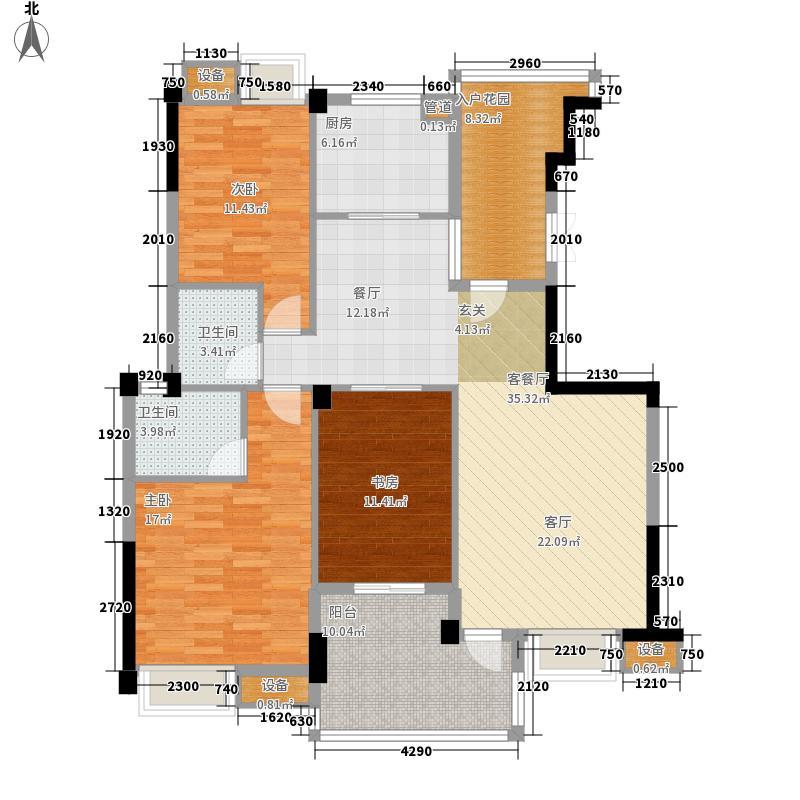 世欧彼岸城129.00㎡世欧彼岸城户型图b7#b11#h3户型3室2厅2卫1厨户型3室2厅2卫1厨