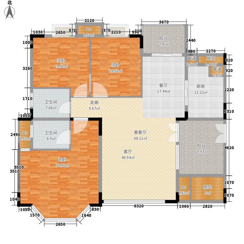 佛山雅居乐花园231.00㎡佛山雅居乐花园4室户型4室
