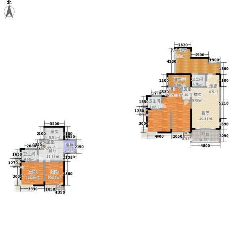 复地城就3室0厅3卫1厨168.66㎡户型图