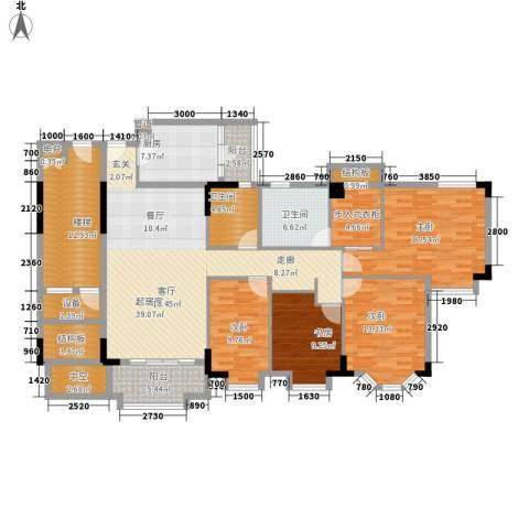 瑞和园4室0厅2卫1厨143.11㎡户型图