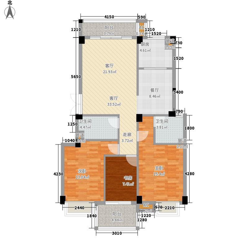 江南水都丽岛112.00㎡江南水都丽岛户型图3室2厅2卫1厨户型10室