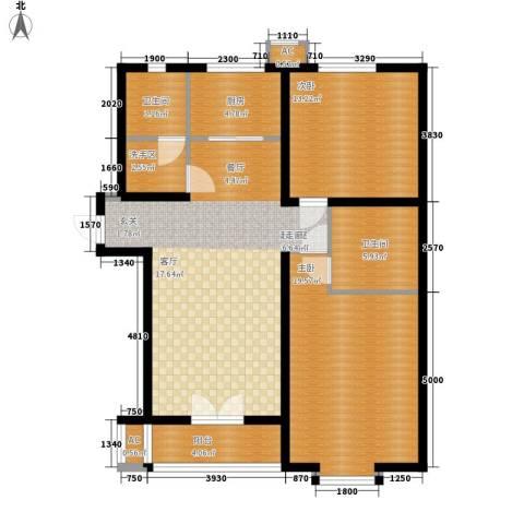 东鹰花园2室0厅2卫1厨121.00㎡户型图