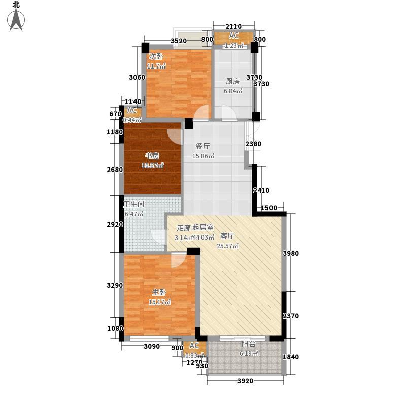 元都新景公寓115.00㎡元都新景公寓户型图6\8\11单元约115平米户型3室2厅1卫1厨户型3室2厅1卫1厨