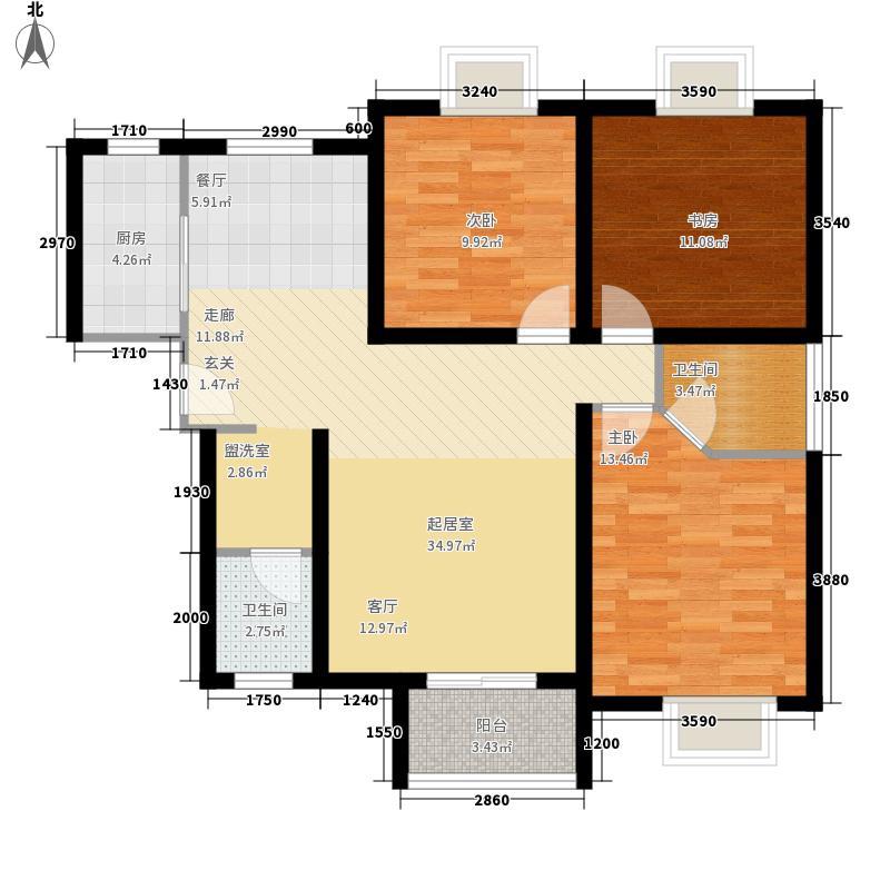 易合坊134.00㎡易合坊户型图A户型3室2厅2卫1厨户型3室2厅2卫1厨