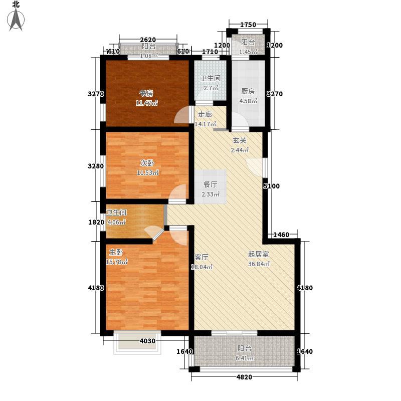 易合坊127.00㎡易合坊户型图C户型3室2厅2卫1厨户型3室2厅2卫1厨