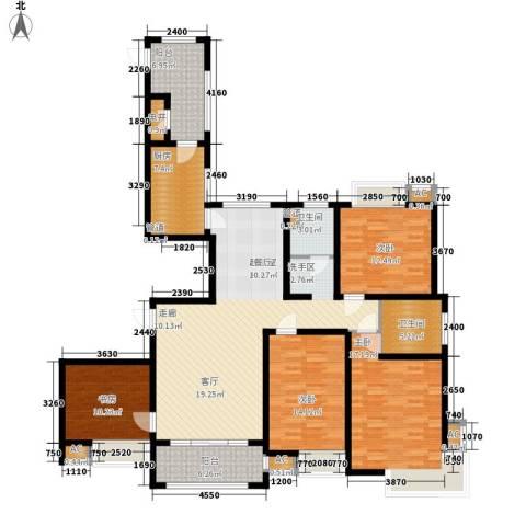 自由都市(乐活家园)4室0厅2卫1厨149.00㎡户型图