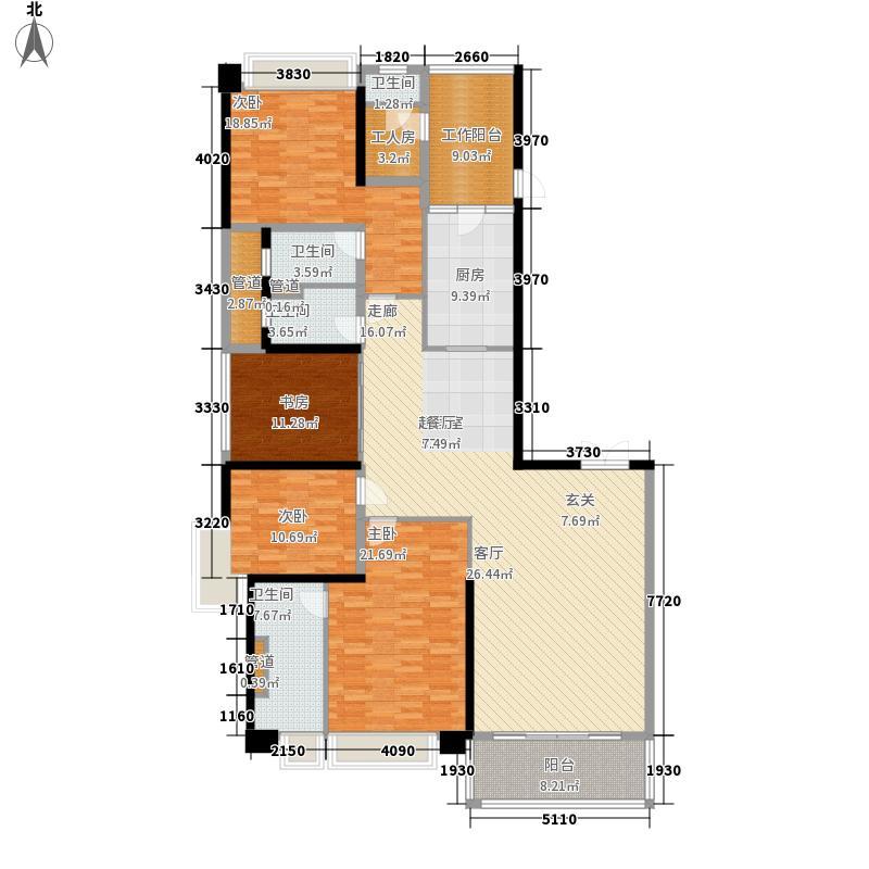 天銮213.50㎡A4/A5栋012面积21350m户型