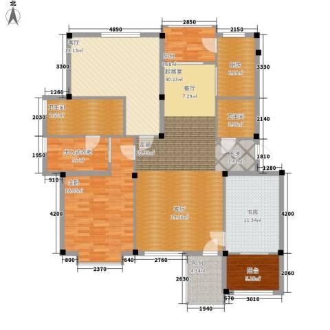 吉粮康郡2室1厅2卫1厨150.00㎡户型图