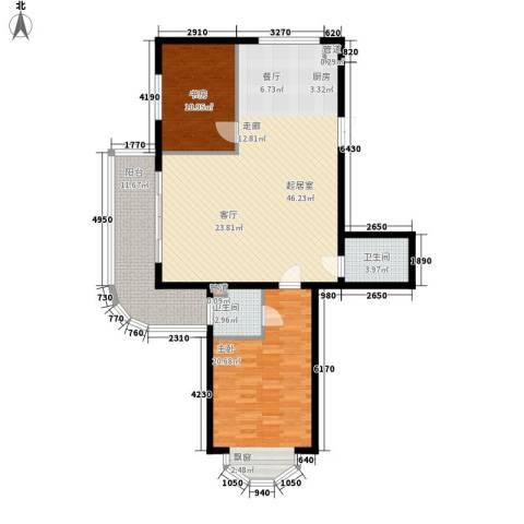 帝景豪庭2室0厅2卫0厨135.00㎡户型图