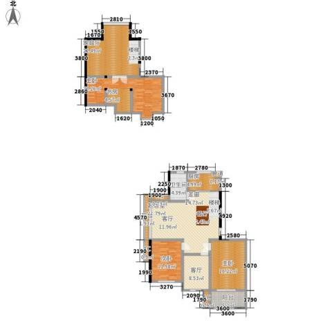 顺城名湾3室1厅1卫1厨140.00㎡户型图
