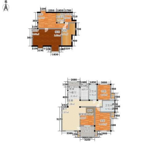 顺城名湾4室0厅3卫1厨168.00㎡户型图