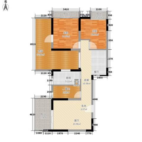 钢琴家 珠海2室0厅0卫1厨138.00㎡户型图