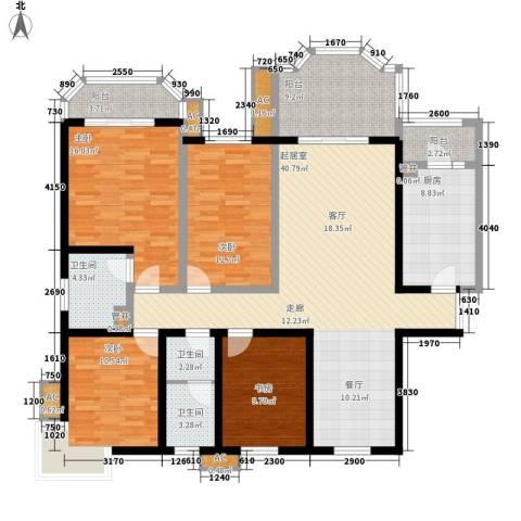 神仙树大院(高新)4室0厅3卫1厨162.00㎡户型图